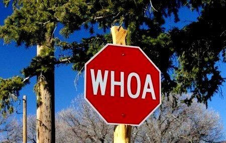 Actual Stop Sign, Alton, Utah