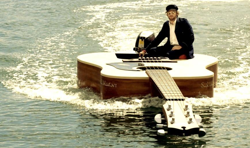 Guitar Boat, Sydney Harbour, Australia