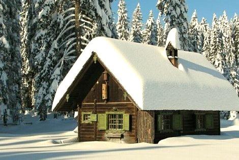 Snow Symmetry,The Alps, Switzerland