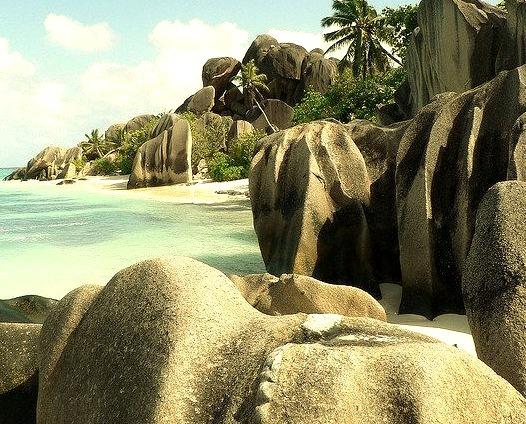 Anse Source D'Argent beach - La Digue, Seychelles.