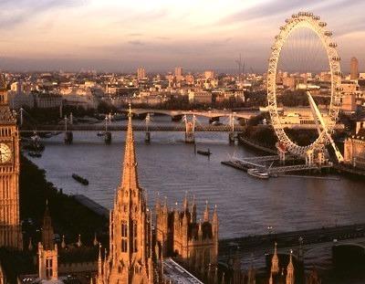 Thames River, London, England