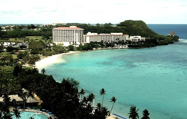 by _Zinni_ on Flickr.Tumon Beach, Guam, Micronesia.