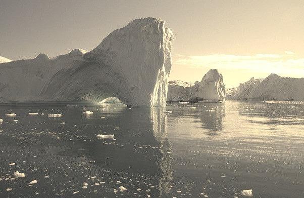 by ghislaine_m on Flickr.Disko Bay is a bay on the western coast of Greenland.