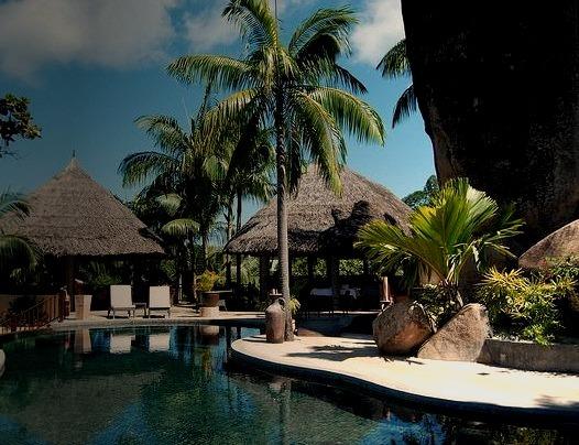 by OliviaRodolphe on Flickr.Valmer resort - Mahe Island, Seychelles.