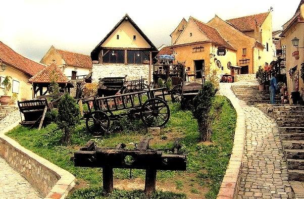 my photo on Flickr.Inside Rasnov Fortress near Brasov, Transylvania, Romania. Photo done in 2007 by myself :)