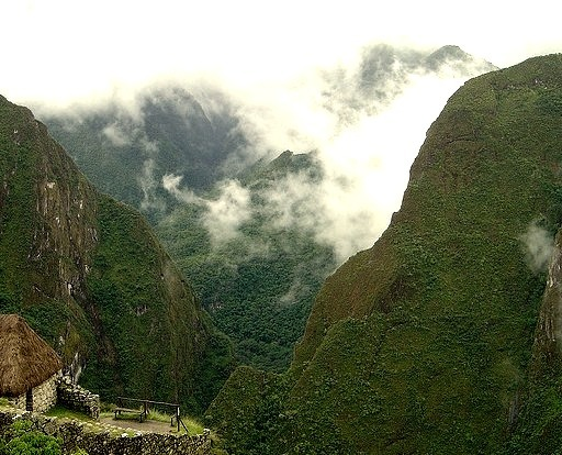Amazing sight in the Sacred Valley of the Incas, Peru