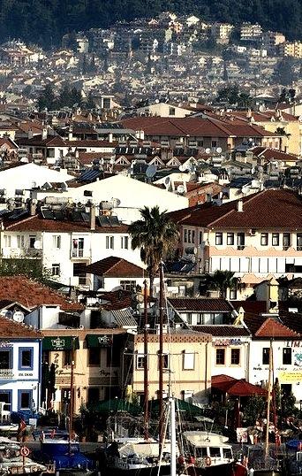 Mediterranean colours, Marmaris, Turkey