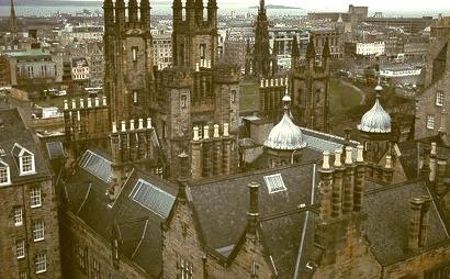Grey Day, Edinburgh, Scotland