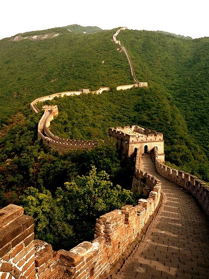 Section of The Great Wall at Mutianyu, China