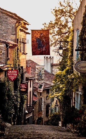 Ancient Village, Cordes Sur Ciel, France