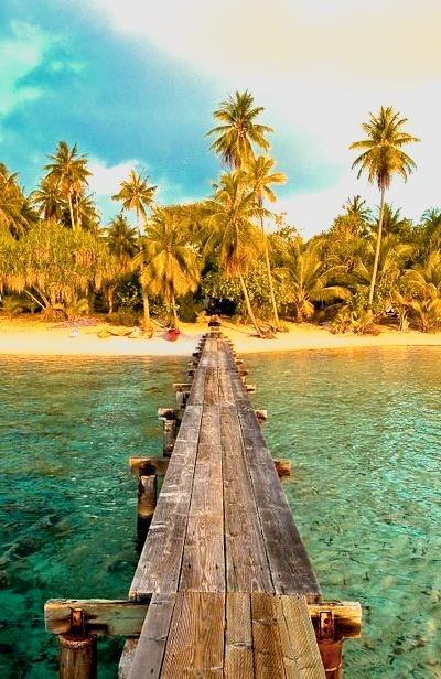 Private Island, Tahiti, French Polynesia