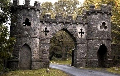 Ancient, Bryansfield Castle Gate, Ireland
