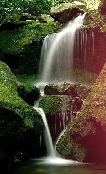 Waterfall, Great Smokey Mountains, Tennessee