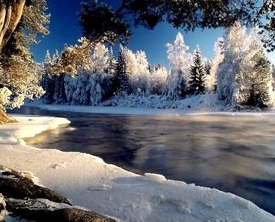 Dal River, Dalarna, Sweden