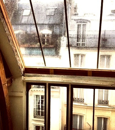 Rainy Day, Paris, France