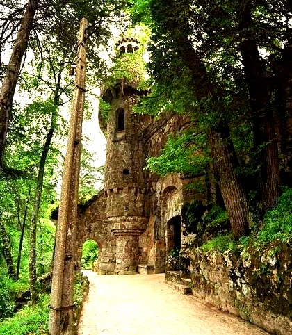 Medieval Castle, Sintra, Portugal