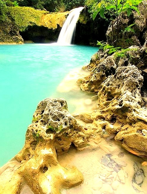 Tanap Avis Falls in Ilocos Norte, Philippines