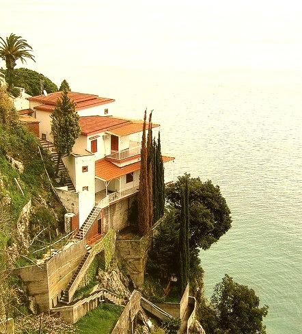 Seaside villa near Vietri sul Mare, Amalfi Coast, Italy